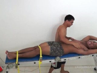 Asian Twink Derick Gets Tickled